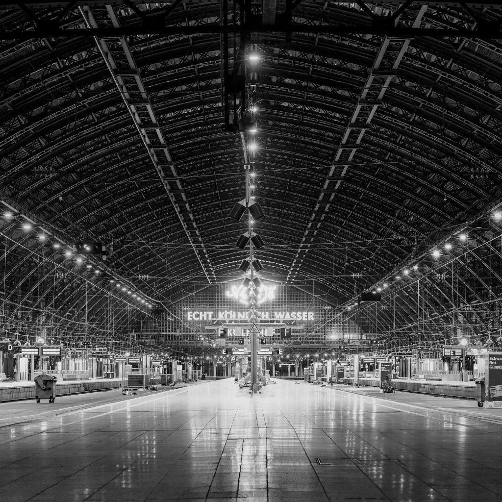 Frank Domahs - Kölner Hauptbahnhof